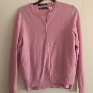 Pink cashmere sweater set